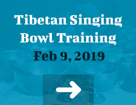 Tibetan Singing Bowl Training Feb 9, 2019